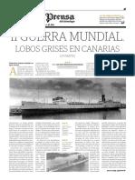 Lobos Grises en Canarias