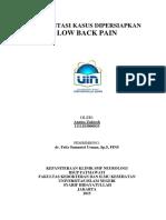 PKD Low Back Pain - Annisa Zakiroh