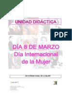 8 de Marzo Dia de La Mujer Unidad Didc3a1ctica