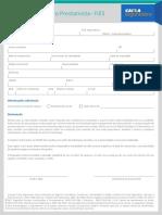 Proposta de Seguro Prestamista FIES DS37