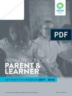 Nexus Primary School Parent Learner Handbook 2017 2018 v1 0%4011 May 2017