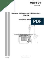 Inyección HPI EDC S6 Trabajo