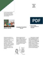 linguistic pamphlet   1