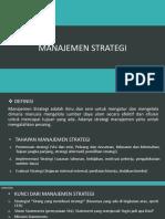 Manajemen Strategi 2018