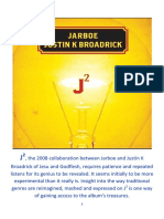J2 by Jarboe and Justin K Broadrick. Album review by Pieter Uys.