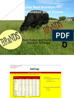 Applied Beef Nutrition Ration Formulation Short Course