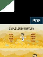 Simple Loan or Mutuum