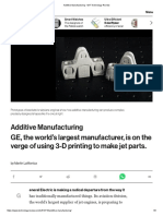 Additive Manufacturing - MIT Technology Review