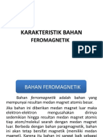 Karakteristik Bahan Ferromagnetik Kel Rosalina Aaisya