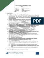 RPP Bab 7 (Aplikasi Integral Tentu)