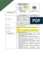Sop Pemberian Info Tentang Efek Samping Dan Resiko Pengobatan
