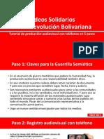 Videos Solidarios - Tutorial en 5 Pasos