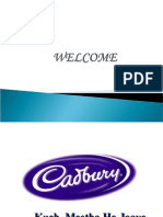 Cadbury Project PPT