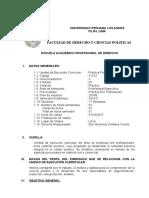 SILABUS Práctica Pre Profesional II