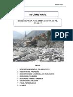 Informe Emergencia Antamina Actualizado 20.04.17
