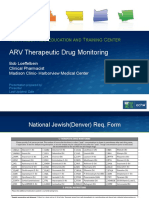 Arv Therapeutic Drug Monitoring