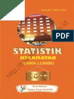 Statistik Daerah Kecamatan Rawalumbu 2016