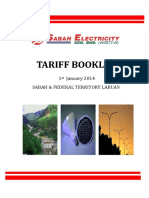 Tariff Booklet SESB