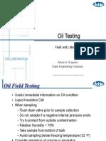 08 Oil Testing