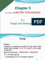 5.1 Soap & Detergent