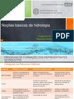 Noçoes Basicas de Hidrologia - Fiesc