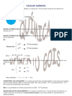 Química RG - Cálculos Químicos