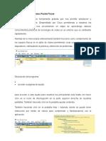 Descripción Del Programa Packet Tracer