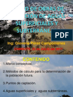 Diseño de Obras de Captación de Aguas Superficiales y Subterráneas