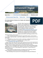 Pa Environment Digest March 12, 2018