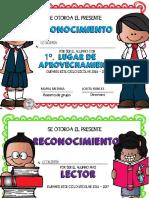 Archivo Editable Diplomas 2017