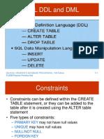 Chapter7 - SQL (Ddl and Dml)