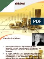 Views on Public Debt