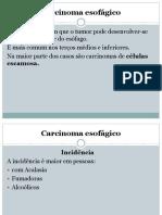 Carcinoma Esofágico 8 e 9