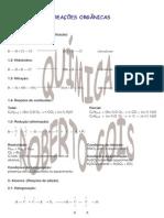 Química RG - Reações Orgânicas