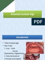 Anomali Jumlah Gigi