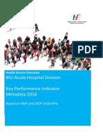 Acute Hospitals Kpi Metadata 2016