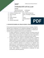 Programacion anual de Ciencias para secundaria.docx