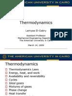FE Exam Thermodynamics El-Gabry