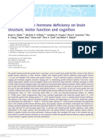Effect of IGF1 in Brain Structure