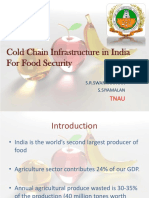 Cold Chain Infrastructure in India