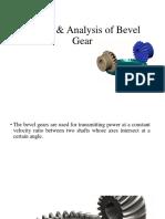 Design of Bevel Gear
