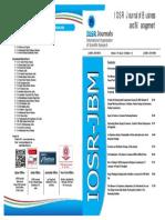 IOSR Book-JBM  19(8)(V)_001