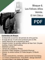 Presentación Bloque 6 Los Felices Años Veinte El Art Déco