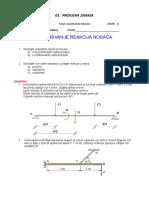 a1 Provjera - Određivanje Reakcija Nosača