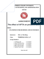 Group Assignment - Statistics - High Quality of Banking & Finance