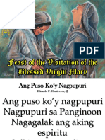 Feast of the Visitation of the BVM PowerPoint Presentation