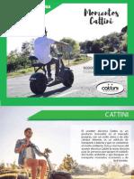Catálogo Scooters Piura Cattini 2018