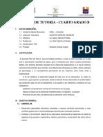 Plan de Tutoria 2016