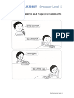 Positive and Negative Statements