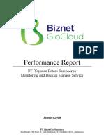 Report Cloud GIO Performance Putera Sampoerna2 -Januari 2018